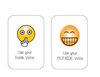 Inside vs. Outside Voice