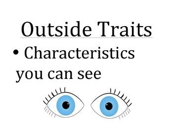 Inside/Outside Traits Poster