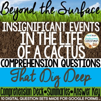 Insignificant Events in the Life of a Cactus: Critical Thinking Questions