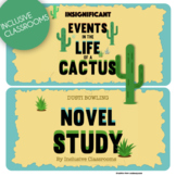 Insignificant Events in the Life of a Cactus - Novel Study