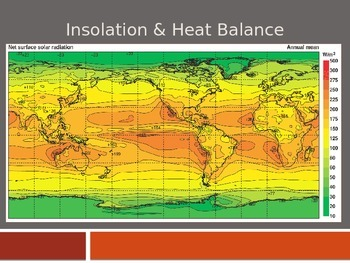 Insolation and Heat Balance PPT