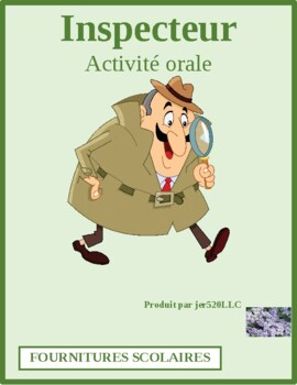 Couleurs (Colors in French) Inspecteur Speaking activity