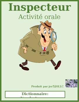 Dictionary (Vandertramps) Inspecteur Speaking activity