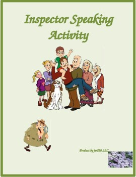 Famille (Family in French) Inspecteur Speaking activity