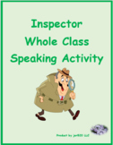 Les Misérables Inspecteur Speaking activity