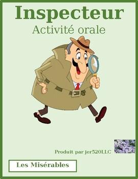 Les Misérables Inspecteur Speaking activity