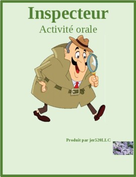 Meubles (Furniture in French) Que vas tu acheter Inspecteur Speaking Activity