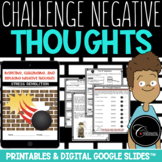 Inspecting, Challenging and Replacing Negative Thoughts (from Stress Demolition)