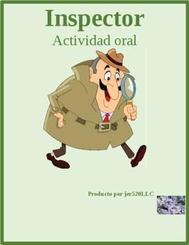 Cumpleaños (Birthday in Spanish) Inspector Speakiing activity