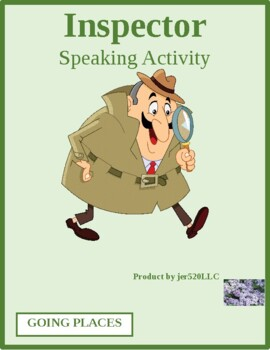 Going Places in 5 languages Inspector Speaking activity
