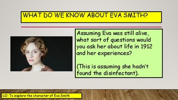Inspector Goole and Eva Smith - Character Revision for An Inspector Calls