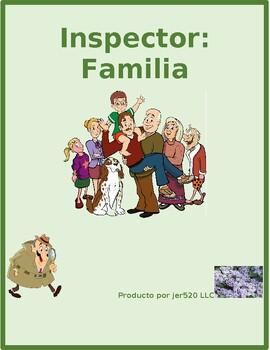 Familia (Family in Spanish) Inspector Speaking activity