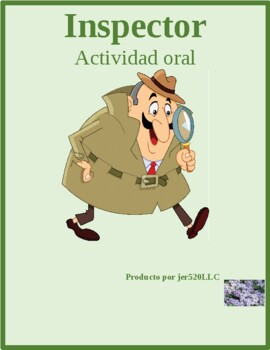 Nacionalidad (Nationality in Spanish) Inspector speaking activity