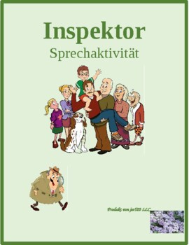 Familie (Family in German) Inspektor Inspector Speaking activity