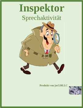 Wie alt (Age in German) Inspektor Inspector Speaking activity