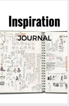 Inspiration Journal, planning in Art class