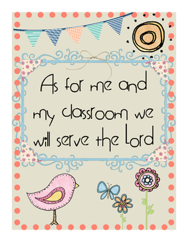 Inspirational Posters For The Christian Teacher