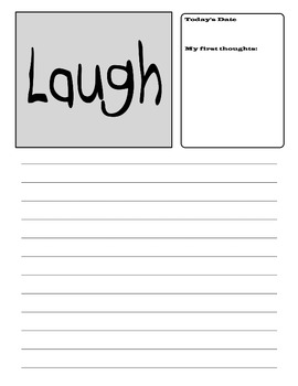 Inspiration Writing Journal Printable