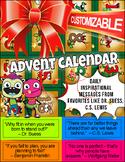 Inspirational Advent Calendar Builder | Daily Messages Dr.