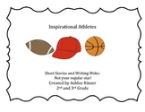 Inspirational Athletes - CLOSE reads, graphic organizers and CC aligned