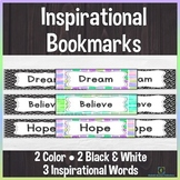 Back to School Inspirational Bookmarks