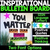 Inspirational Bulletin Board