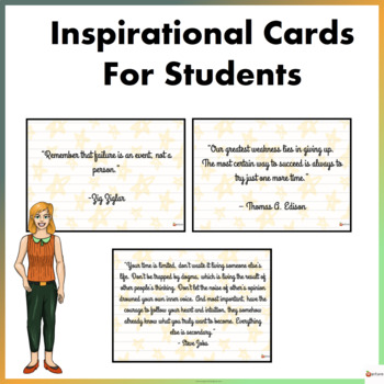 Inspirational Cards For Students