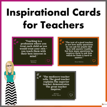 Inspirational Cards For Teachers