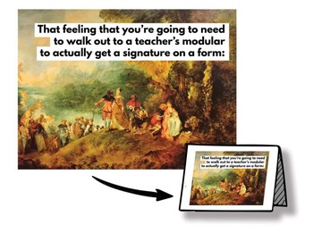 "Inspirational Cards for Special Education Teachers - ""Renaissance IEP"""