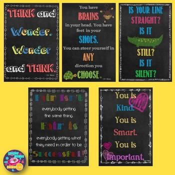 Inspirational Chalkboard Posters