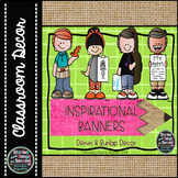 Classroom Decor Banners-Growth Mindset & Positive Inspirat