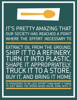 Inspirational Classroom Poster: It's Pretty Amazing (Conse