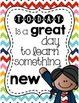 Inspirational Classroom Posters - Cheerful & Bright Stripe