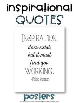 Inspirational Classroom Quotes Set