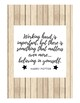 7 Inspirational Classroom Quotes (Shiplap Background)