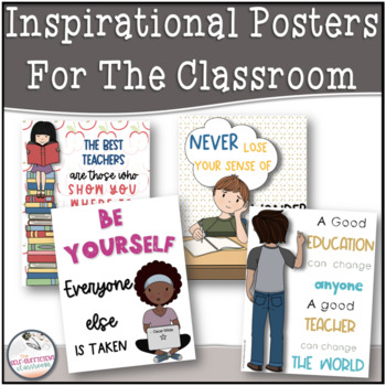 Inspirational Classroom Quotes (for the middle school and high school teacher)
