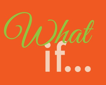 Inspirational Classroom or Maker Space Poster | What If...
