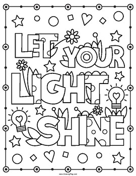Inspirational Coloring Book - Positive Affirmations and Motivational ...