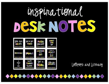 Inspirational Desk Notes