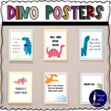 Inspirational Dinosaur Posters