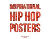Inspirational Hip Hop Lyric Posters