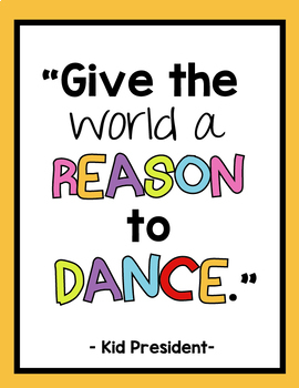 10 Inspirational Kid President Posters
