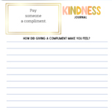 Inspirational Kindness Journal: Acts of Kindness