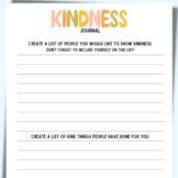 Inspirational Kindness Journal: Kindness Writing