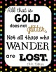 Inspirational Literary Quote Posters - FREEBIE
