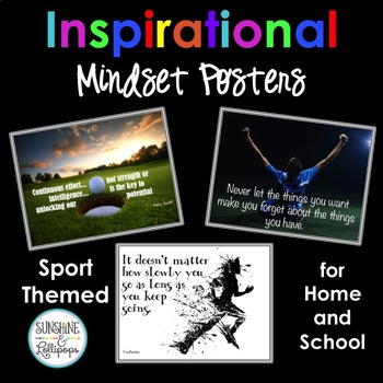 Inspirational Posters for Classroom or Office