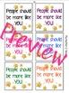 Inspirational, Motivational, Mindset Sticky Notes-ANY SUBJ