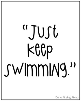 Inspirational / Motivational Posters {Quoted from Famous Childhood Characters}