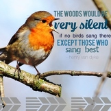 Inspirational Music Quote- SING!