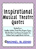 Musical Theatre Quotes Worksheets & Teaching Resources | TpT